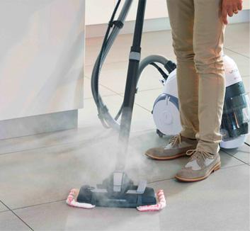 Unico 3 en 1 aspire nettoie la vapeur et s che polti for Nettoyeur vapeur joint carrelage