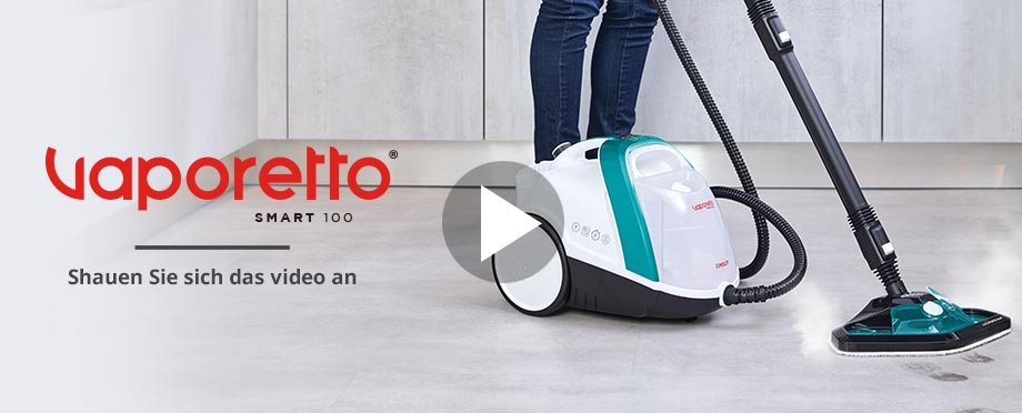 Vaporetto steam cleaner video demo