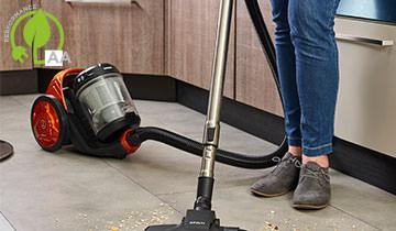 Forzaspira C130 Plus - bagless cyclonic vacuum cleaner: double class A