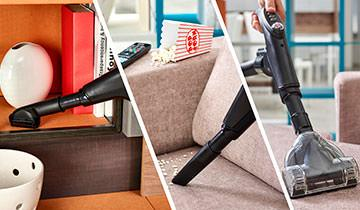 Forzaspira MC 330 Turbo - 4 brushes for every type of floor