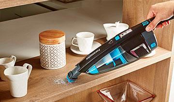 Forzaspira SE 18.5 stick vacuum - Integrated handheld vacuum