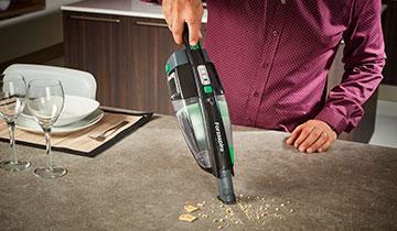 Forzaspira SR25.9 Plus stick vacuum - Integrated handheld vacuum