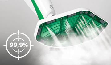 Vaporetto SV400 Hygiene steam mop -detergent-free hygiene