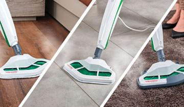 Vaporetto SV400 Hygiene steam mop- For all floors