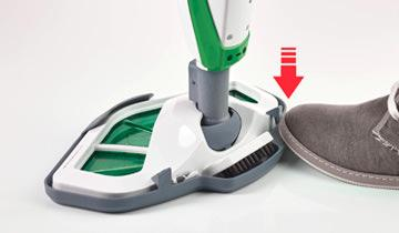 Vaporetto SV400 Hygiene steam mop -detail cloth attachment