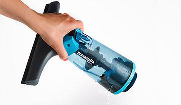 Forzaspira AG 130 window cleaner - Easy and fast maintenance