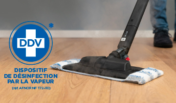 Polti Vaporetto MV 20.20: efficacia disinfettante con spazzola Vaporforce